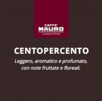 Caffè Mauro CentoPerCento Espresso Point kompatible Kapseln 150 Stück