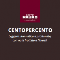 Caffè Mauro Cialda Ese-Pads 44mm 18 Stück CentoPerCento