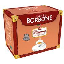 Caffè Borbone Respresso Kapseln Nespresso kompatible Blaue Mischung 100 Stück