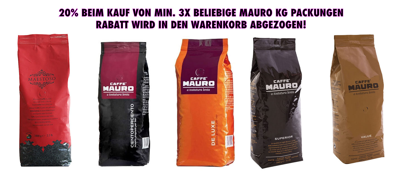 Jetzt Caffé Mauro bestellen